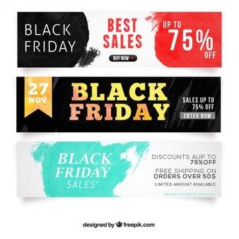 Black friday verkauf-banner