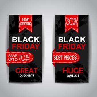 Black friday verkauf broschüren