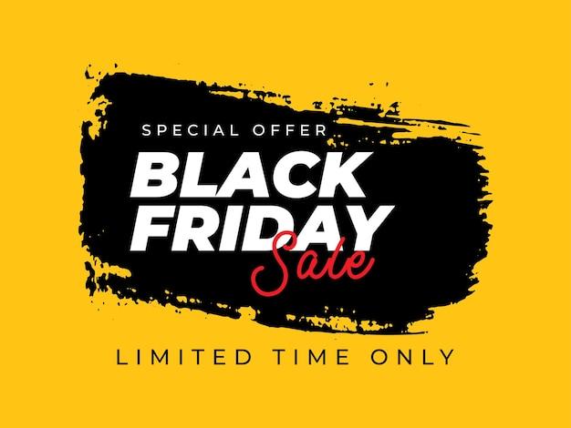 Black friday-verkaufsbanner-vorlage