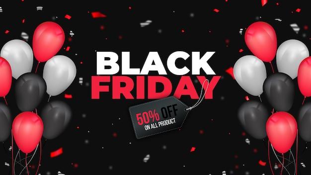 Black friday web banner vorlage