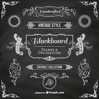 Blackboard rahmen