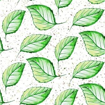 Blätter muster