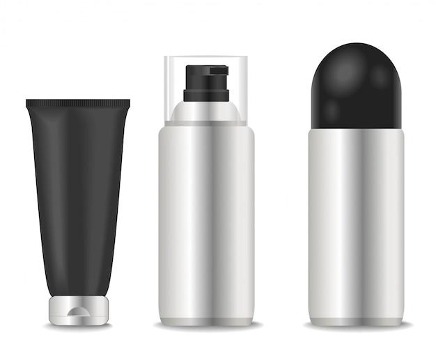 Blank deodorants und schaumschläuche