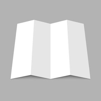 Blankopapier karte