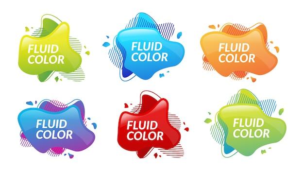 Blasenflüssigkeit flüssigkeitsspritzer farbverlauf