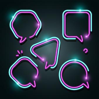 Blasentext-neon-fahnensatz.