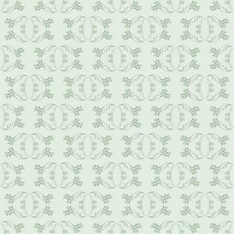 Blasse pistazie ornamental strudel hintergrund