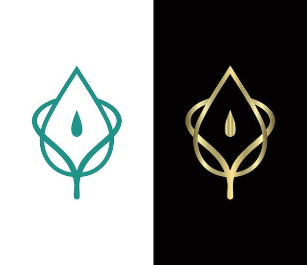 Blatt-logo-vektor-symbol