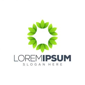 Blatt logo vorlage