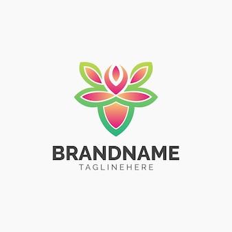Blatt-steigung logo design