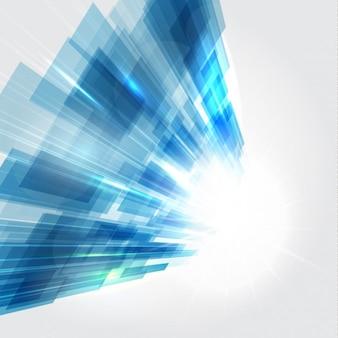 Blau digitalen hintergrund