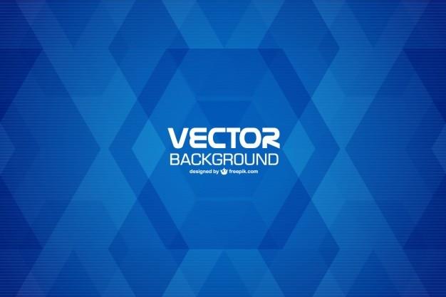 Blau geometrischen hintergrund