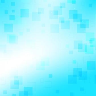 Blau mit kleinen quadraten hintergrund