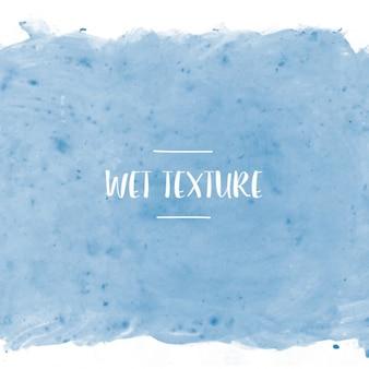 Blau nassen textur