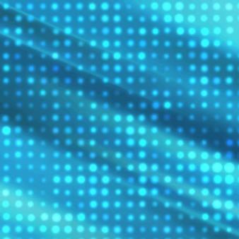 Blau rasterpunkte
