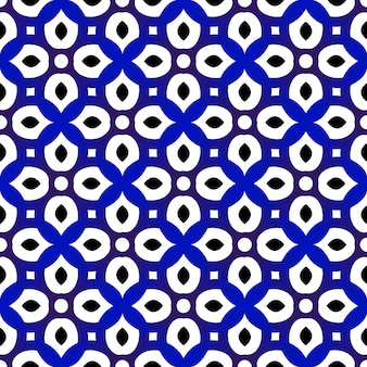 Blau-weißes muster