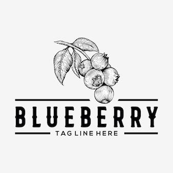 Blaubeer vintage logo