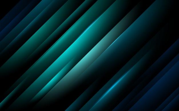Blaue abstrakte linie mit hellem hintergrund