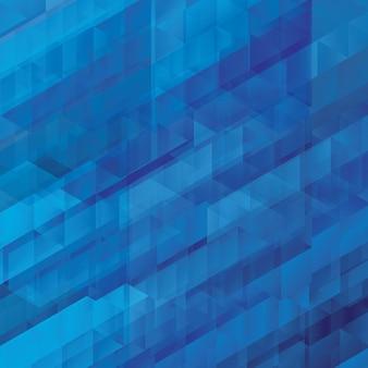 Blaue abstraktion, bestanden aus blauen ziegelsteinen, unterschiedlicher schattenhintergrund