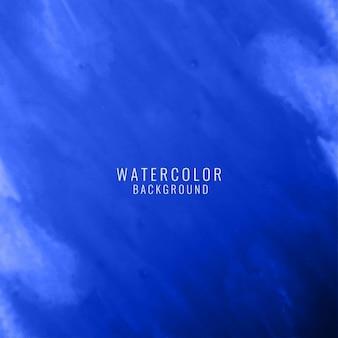 Blaue aquarell elegant hintergrund