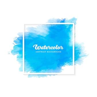 Blaue aquarell textur bnner