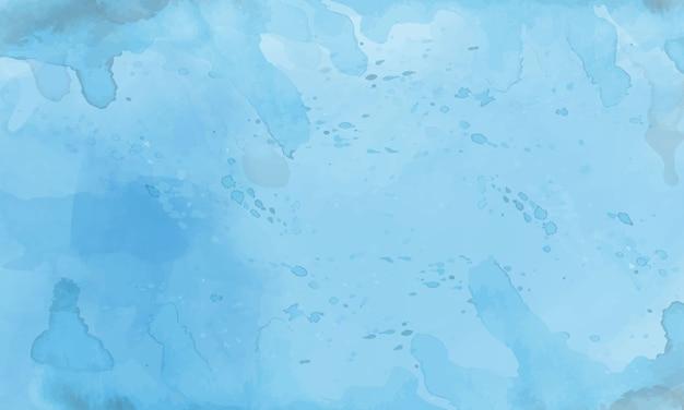 Blaue aquarellhintergrundschablonen.