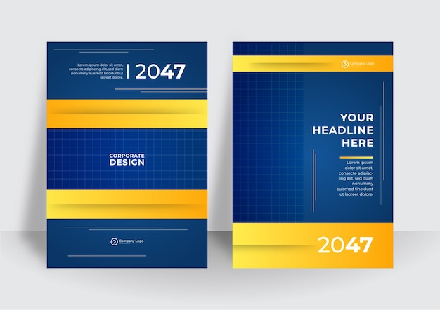 Blaue corporate identity abdeckung business-vektor-design, flyer broschüre werbung abstrakten hintergrund, broschüre moderne poster magazin layout vorlage, jahresbericht für die präsentation.