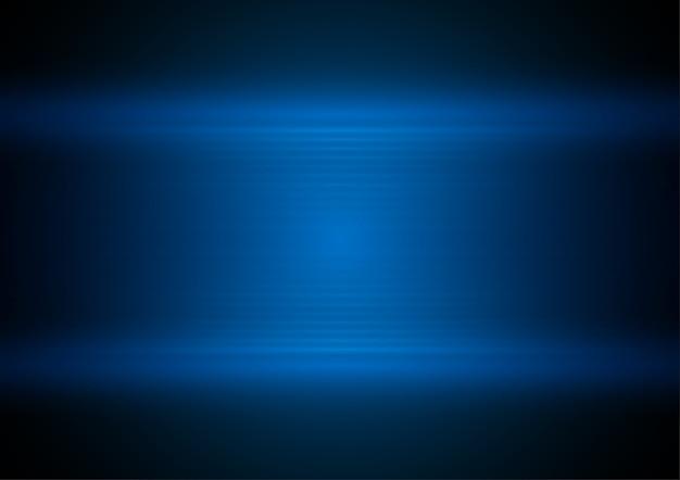 Blaue einfache schicht, technologievektorkonzept.