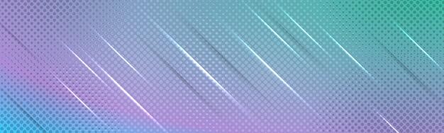 Blaue elegante moderne hintergrundkomposition mit verläufen, schattenlichtern und halbton-textur