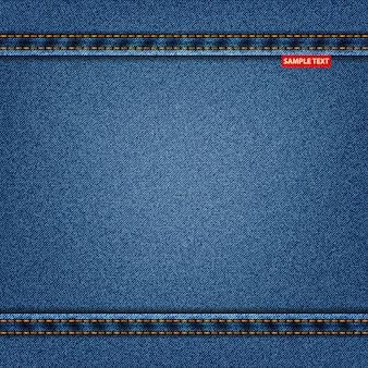 Blaue farbe der jeansbeschaffenheit, denimhintergrund