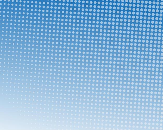Blaue farbe halbton-design