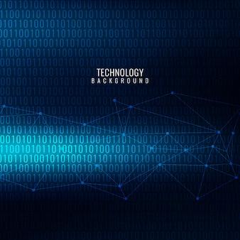Blaue farbe moderne technologie-design-hintergrund
