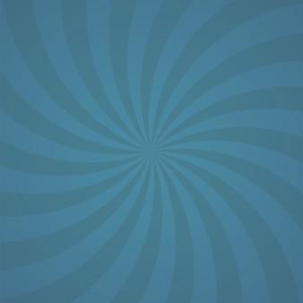 Blaue farbe spin burst hintergrund