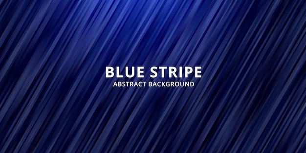 Blaue farbverlaufsfarbe des abstrakten hintergrunds. streifenlinie tapete