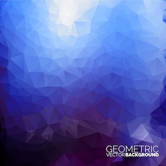 Blaue geometrische backgroun