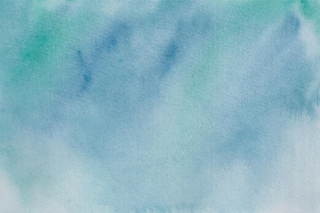 Blaue grüne aquarellhintergrundbeschaffenheit