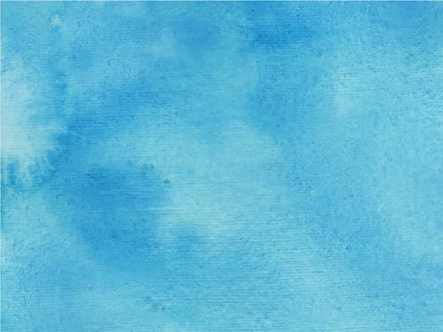 Blaue handgemalte textur