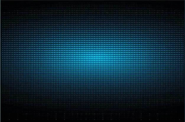 Blaue led-kinoleinwand