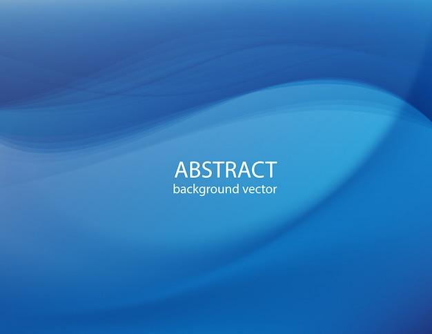 Blaue linie abstrakter hintergrund. vektor.