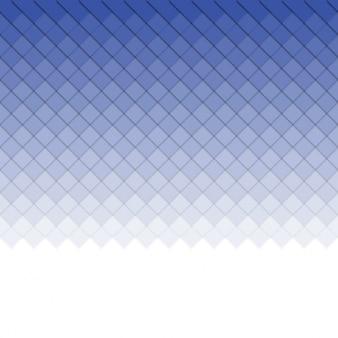 Blaue quadrate hintergrund