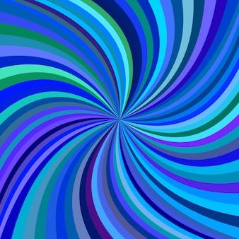 Blaue spirale hintergrund
