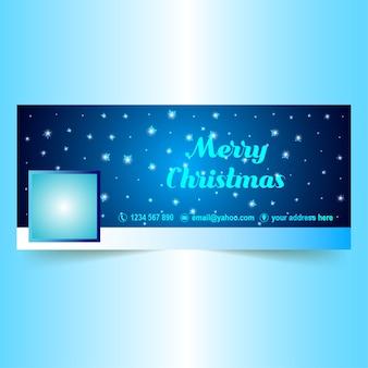 Blaue sterne helles weihnachten facebook hülle