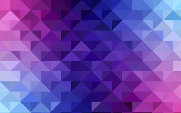 Blaue vektor polygon abstrakte vorlage