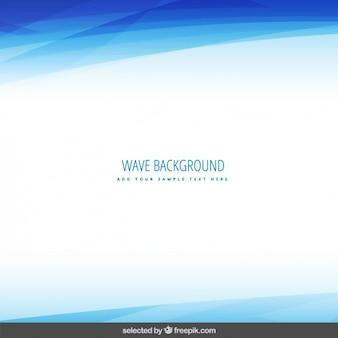Blaue wellenlinie hintergrund