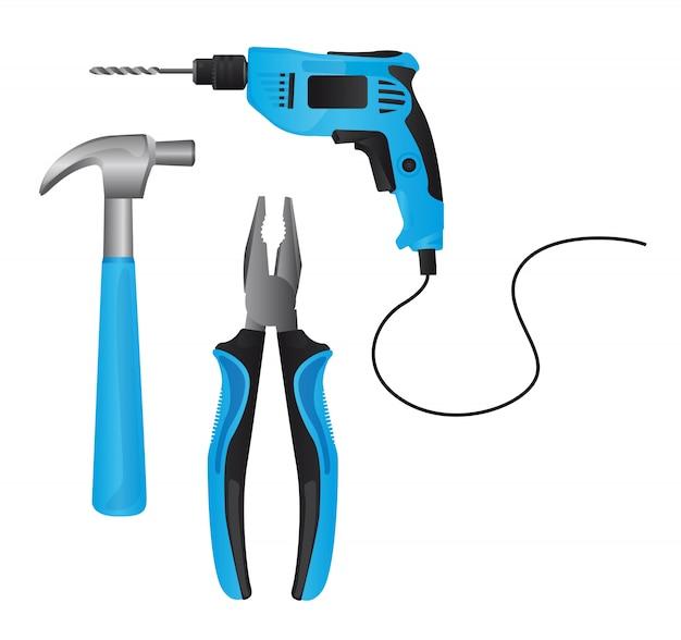 Blaue werkzeuge