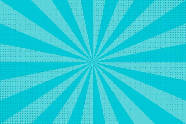 Blauer abstrakter halbtonhintergrund