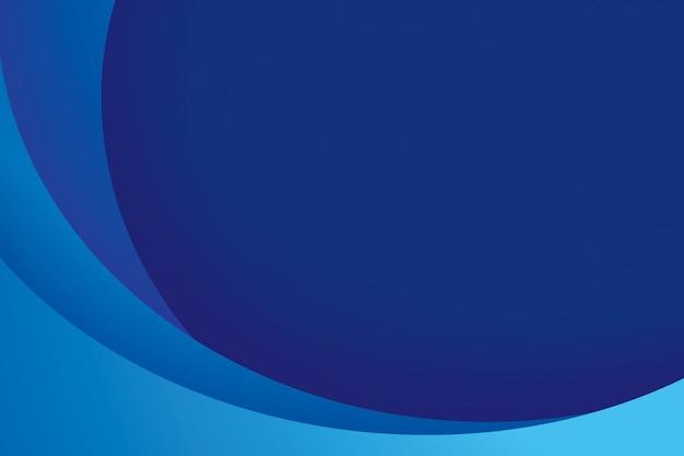 Blauer abstrakter hintergrund des papierschichtkreises.