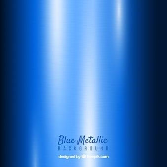 Blauer abstrakter metallischer hintergrund
