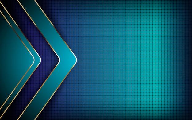Blauer abstrakter moderner hintergrund
