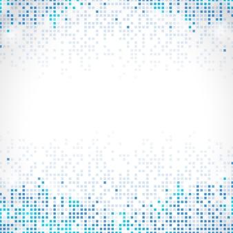 Blauer abstrakter pixelregenhintergrund